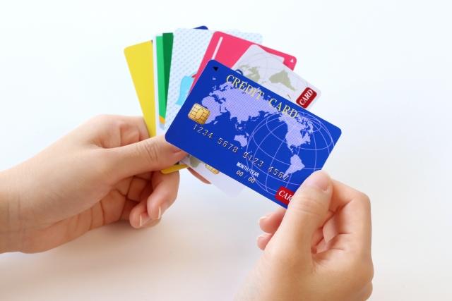 クレジットカードによる入金のイメージ