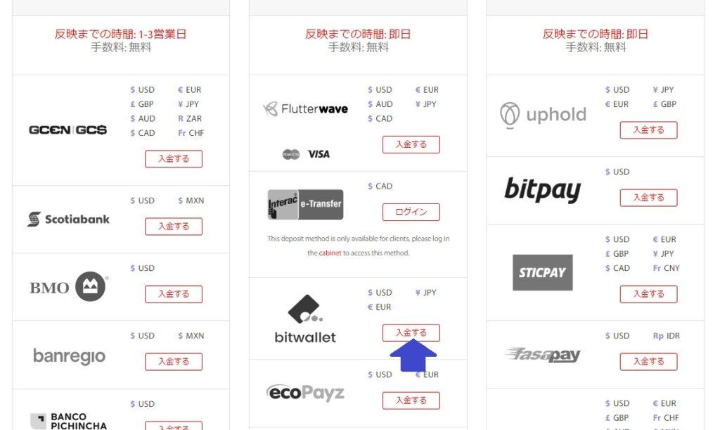 tradeview入金資料(Bitwallet)
