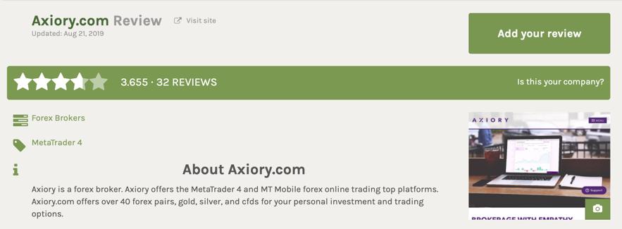 AXIORYのFPAでの評価