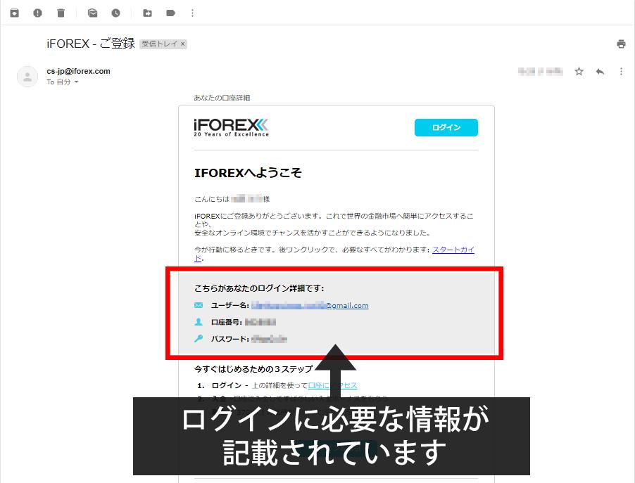 iFOREX口座開設手順5